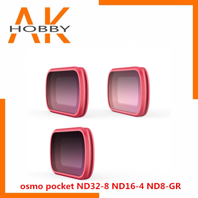 Filtro para Osmo Conjunto de Filtros Pgytech Profissional Bolso Nd16-4 Nd32-8 Nd8-gr 3 Pacote Pgy gr