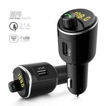 CDEN FM transmitter Bluetooth Car Kit MP3 music player receiver U disk Dual USB charger