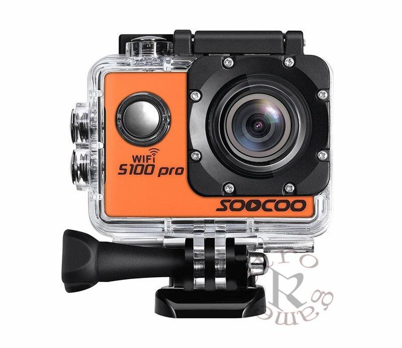 4 K WIFI deportes acción Cámara SOOCOO S100 Pro HD impermeable DV videocámara 20MP 170 grados gran angular 2 pulgadas LCD 2,4 GHz remoto