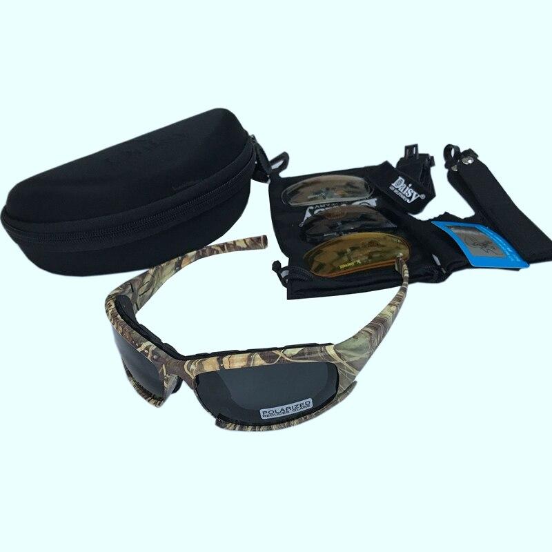 Tips   Polarized Glasses Only Black Lens Polarized ! Caminhadas Eyewears  camuflagem tático Óculos daisy x7 ... a26b920a2a