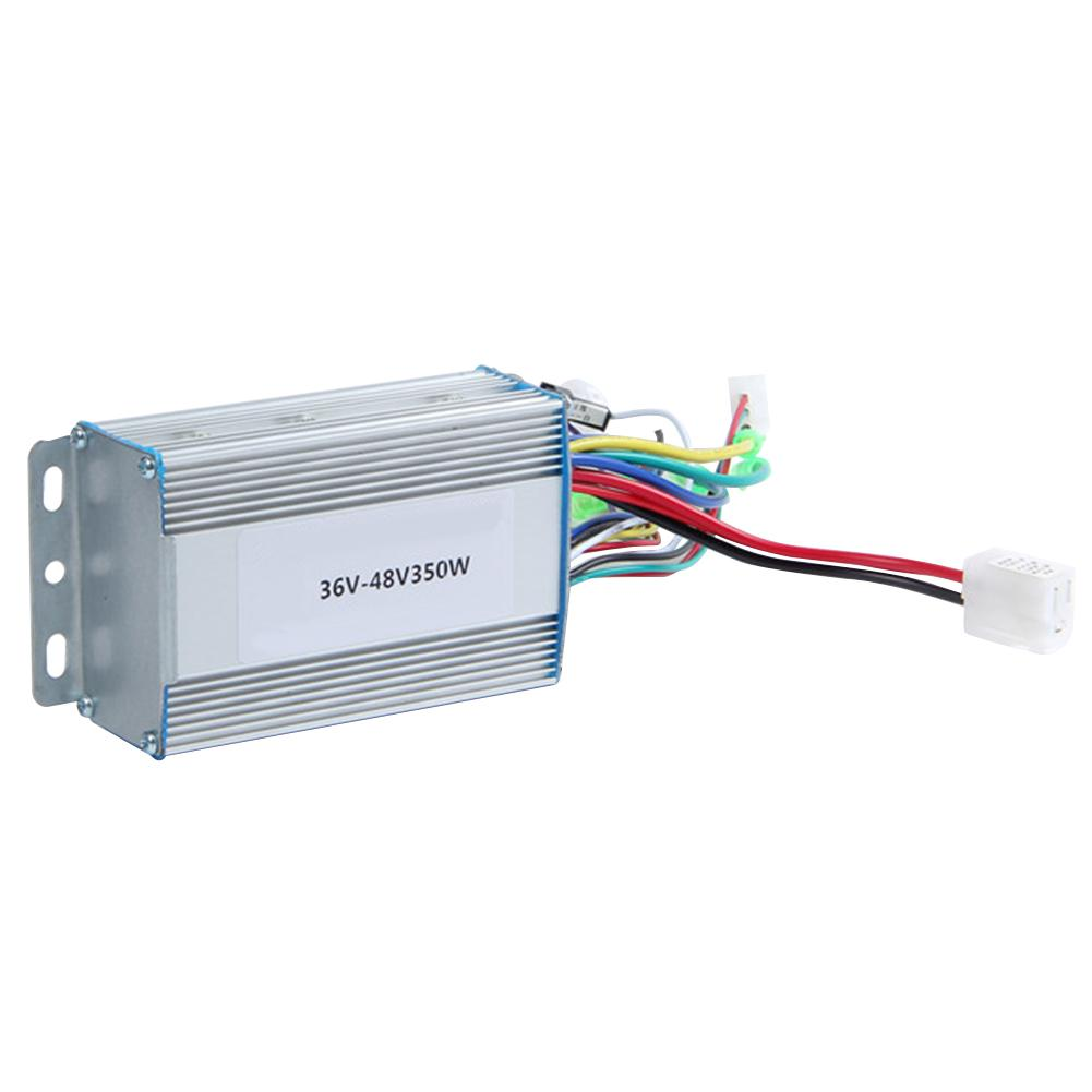 DC 36V / 48V Brushless Electric Bicycle Motor Controller 350W Dual Mode Battery Controller for Electric Bike Scooter