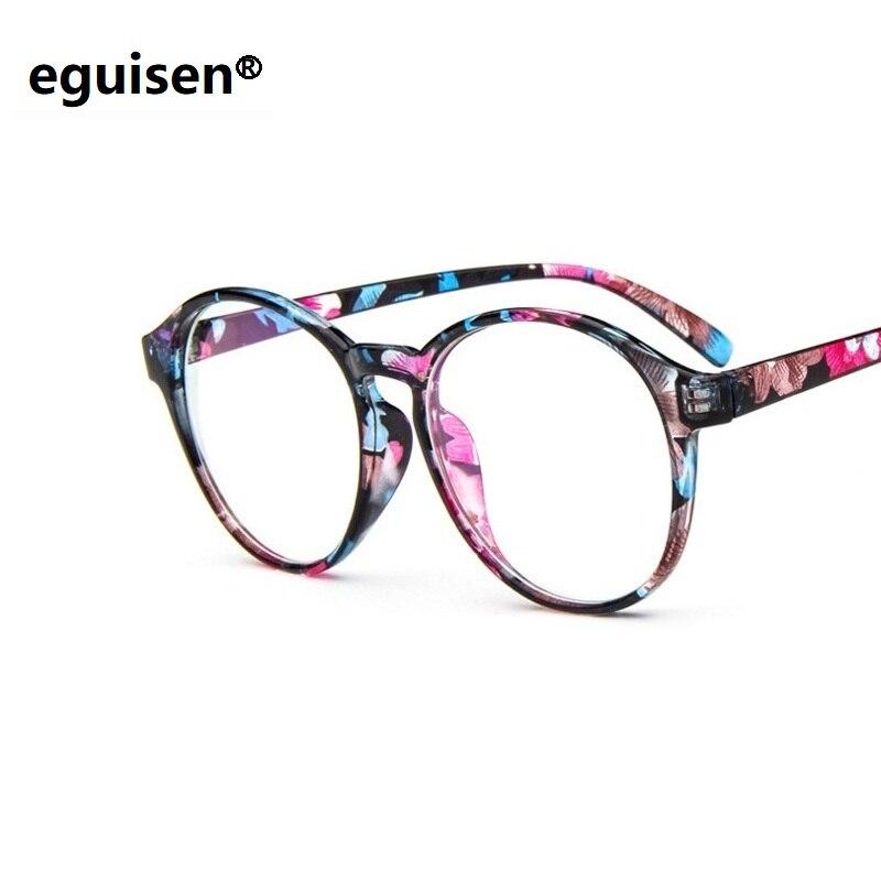 Korean fashion glasses wholesale 2163 retro round frames tide of anti fatigue UV400 Eyeglasses Frames spectacle frame