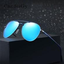 Для мужчин солнцезащитные очки, марочные, дизайнерские, HD объектив солнцезащитные очки пилота металлический каркас UV400 зеркало авиации просвечивается, мужские солнцезащитные очки поляризованные солнцезащитные очки