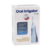 1 PCS Newest V8 Potable Oral Irrigator Water Toothpick Teeth Whitening Water Flosser US UK EU