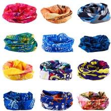 цены Multi Colors Bandana Tube Scarf Head Face Mask Neck Gaiter Headwear Snood Beanie