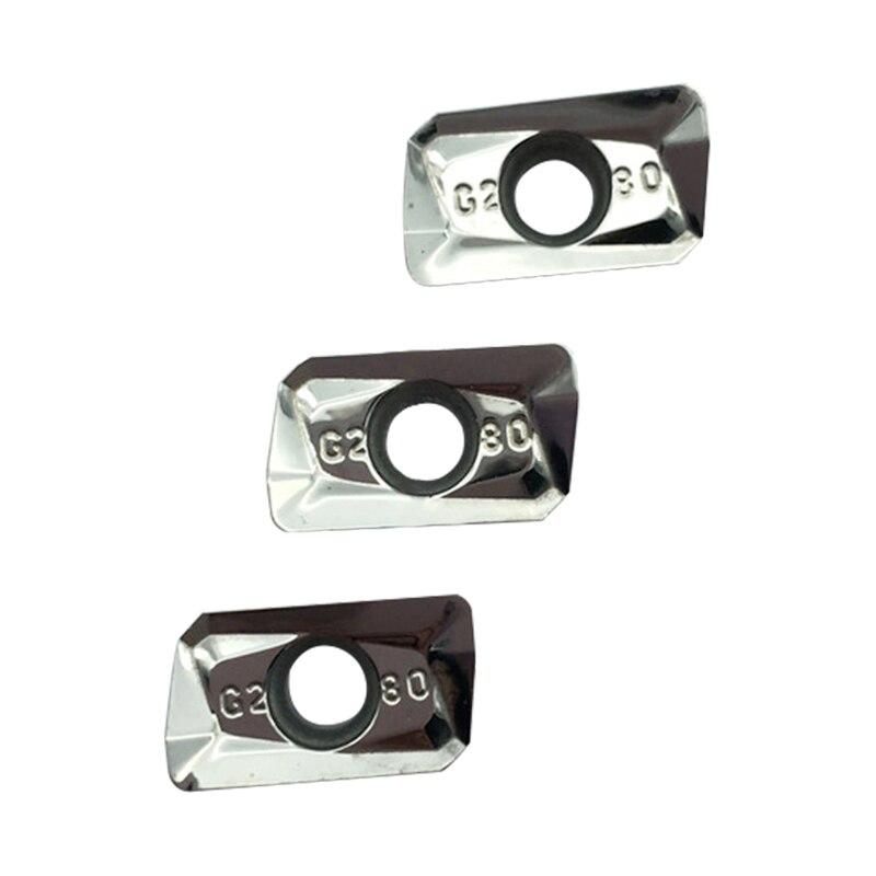 50 vnt APKT1135 PDER AK H01 Aliuminio pjovimo peiliukas Įterpimo - Staklės ir priedai - Nuotrauka 3