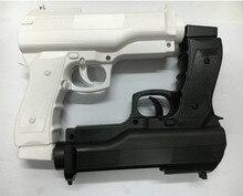 2 x tabanca ışık atıcılık spor Video oyunları bir el Gun denetleyici nintendo Wii uzaktan kumanda için oyun aksesuarları