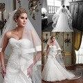 2017 Elegante Simples Duas Camadas Fita de Borda Acessórios Do Casamento Véus De Noiva Catedral Véu Curto Véus De Noiva Barato V3