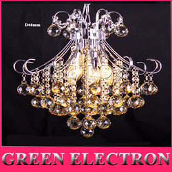 Nowoczesny luksus LED kryształowy żyrandol restauracji sypialnia lampy kryształowe mody kreatywny lampa do salonu kryształ światła przejściach i korytarzach