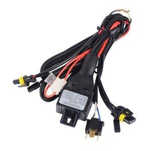 Image 5 - 12 V H4 3 Bi xenón H4 escondió Bixenon H4 HID Kit 35 W fuente de luz del coche 3000 K 6000 K 8000 K 4300 K 5000 K BI XENON H4 bombillas de los faros
