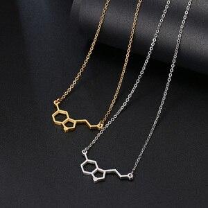 Ожерелье DOTIFI из нержавеющей стали для женщин, геометрическое ожерелье из эротонина