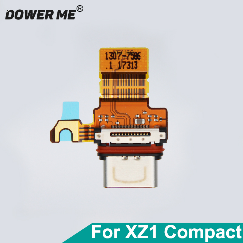 Dower Me Type-C USB Charging Charger Port Dock Connector Flex Cable For Sony Xperia XZ1 Compact XZ1C Mini G8441 Replacement