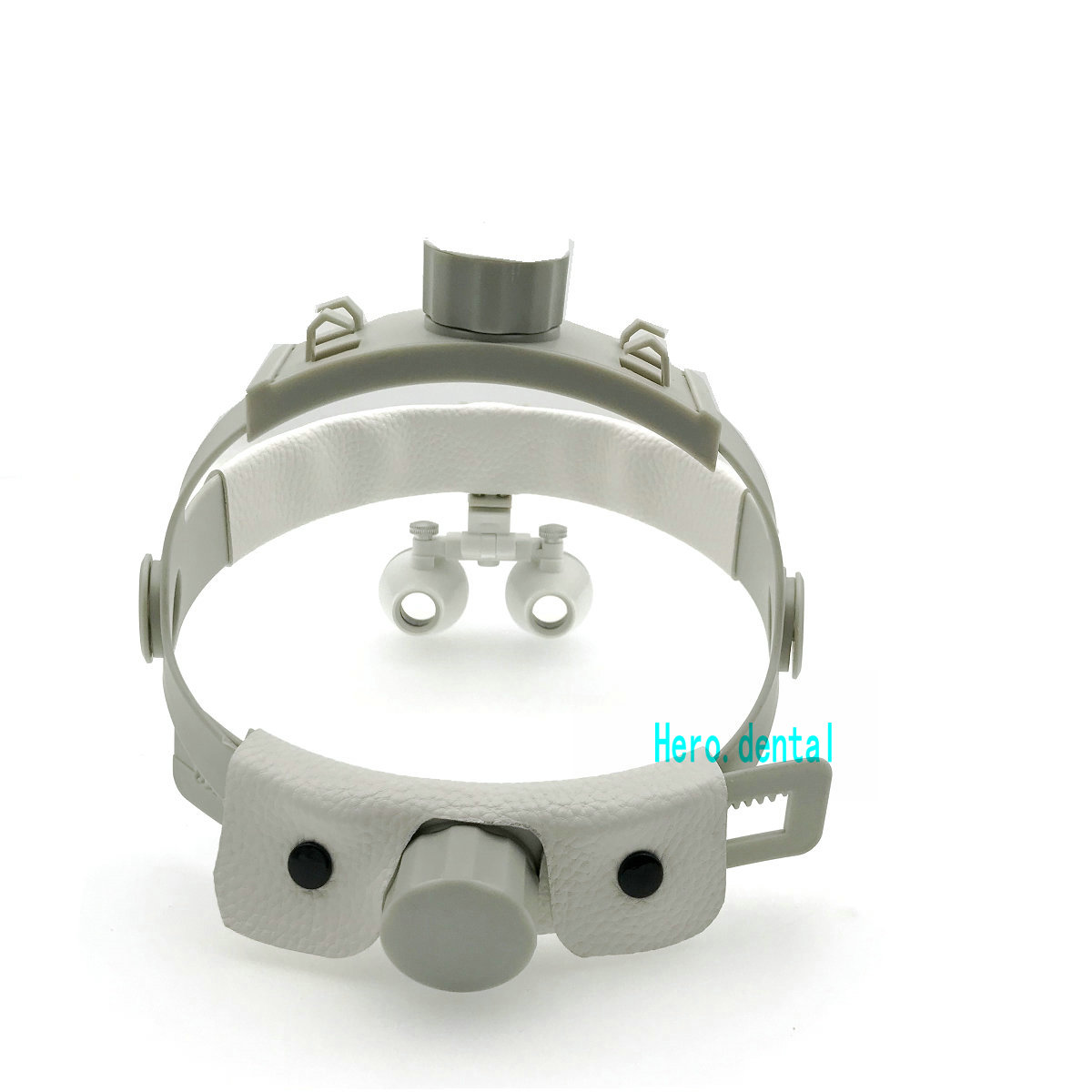 3.5X-420 dentaire chirurgical médical bandeau binoculaire Loupes loupe blanc - 5