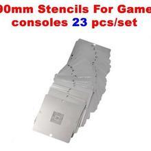 23 шт. BGA 90x90 мм трафареты игровой консоли для PS3 Xbox 360 wii