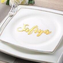 Свадебные открытки на заказ с именами, ярлыками для гостей, вечерние украшения, свадебные знаки, каллиграфия