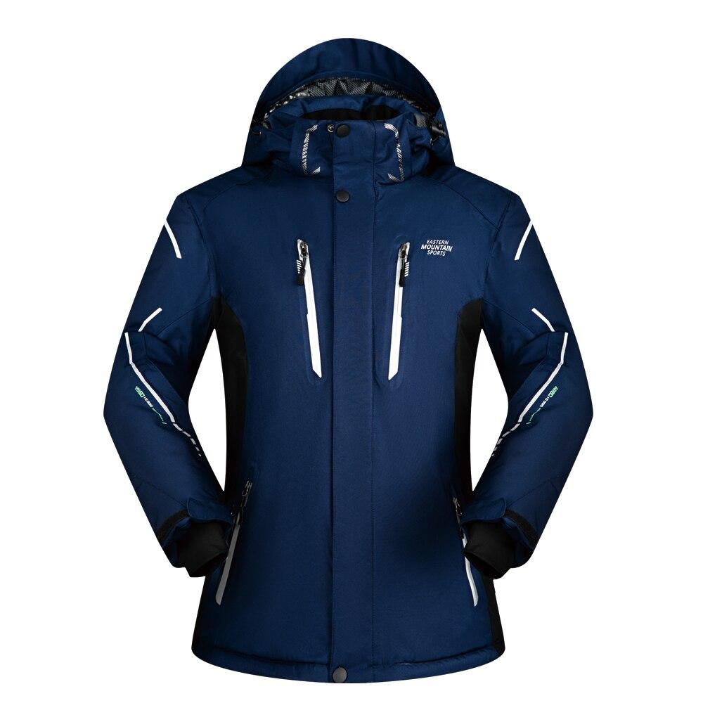 Veste de Ski Hommes Marques Hiver 2018 Nouveau imperméable à l'eau Super Chaud Respirant En Plein Air de Montagne Manteaux de Ski Et Snowboard Veste Hommes
