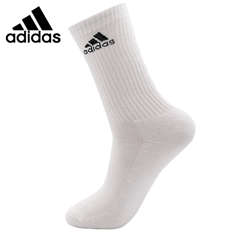 Original New Arrival Adidas 3S PER CR HC 1P Unisex Sports Socks( 1 Pair )