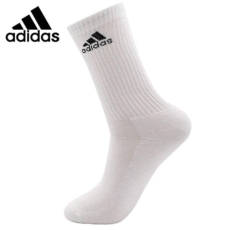 Original New Arrival Adidas 3S PER CR HC 1P Unisex Sports Socks( 1 Pair )
