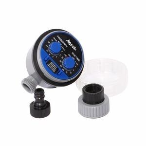 Image 5 - 2 قطعة صمام كرة ذكي من Aqualin مؤقت سقي إلكتروني آلي للحديقة المنزلية للري يستخدم في الحديقة ، الفناء #21025 2