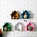 Американский кантри настенный небольшой дом стена кафе столовая деревянное украшение для стены