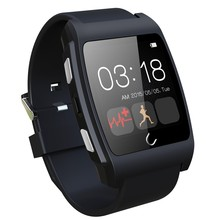 Uwatch UX 1.44 Display Bluetooth Smart Watch for apple Android Smartwatch Passometer Anti Lost NFC Remote Picture Heart Rate