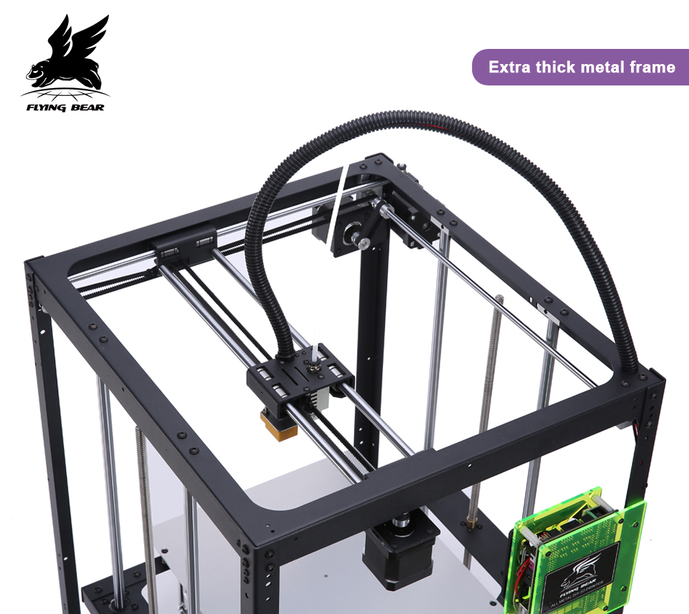 Shipping from Germany Hot sale Flyingbear Full metal Auto leveling DIY 3d Printer P905X kit Large printing size free dhl shipping 3d printer linear guide diy kit large printing speed 20 180mm s 3d metal printer support auto leveling