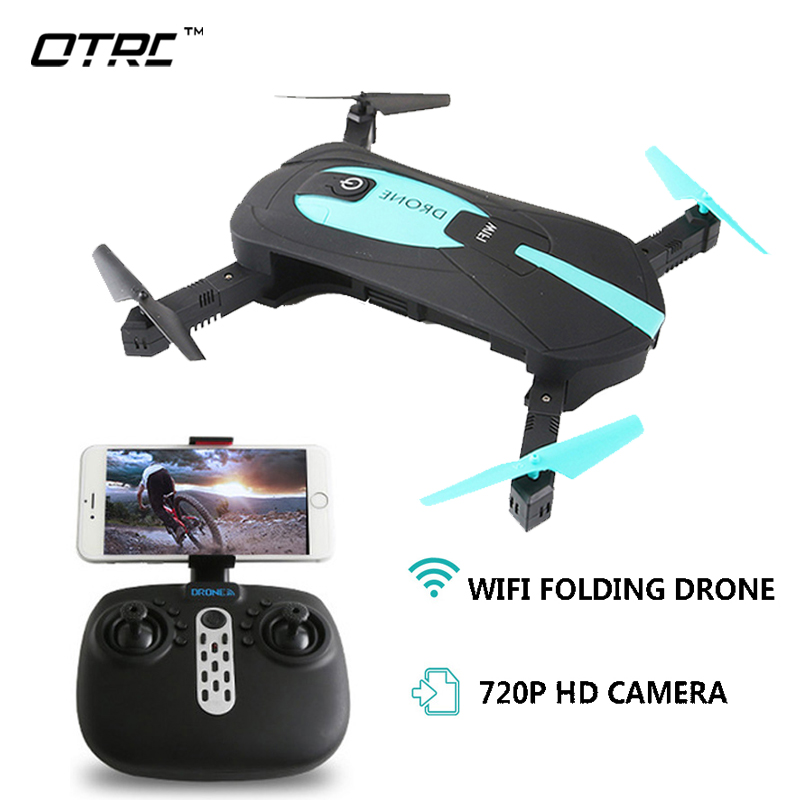 Rc Helicopter Foldable Mini Drones With Camera Hd Quadrocopter Wifi Drone Professional Selfie Dron jy018 gw018 e52 otrc 2mp fvp Квадрокоптер