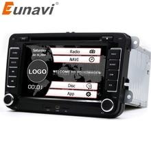 """Eunavi 7 """"2din de DVD Del Coche para VW POLO GOLF 5 6 POLO PASSAT B6 CC JETTA TIGUAN TOURAN EOS SHARAN SCIROCCO CADDY con GPS Navi canbus"""