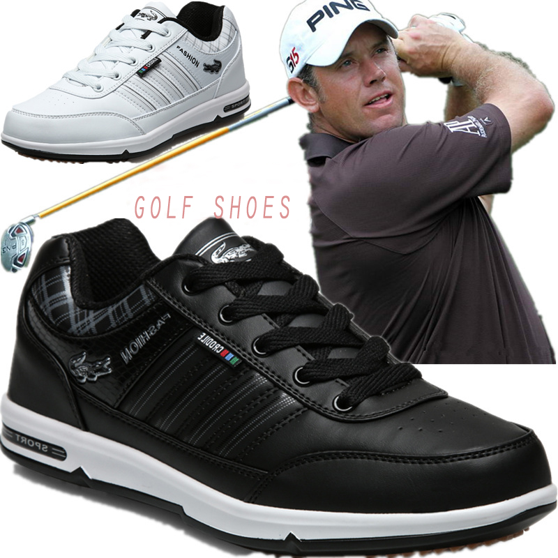 Golf-Shoes Sport-Sneakers Waterproof Authentic Male 46 Breathable Men Chaussures Anti-Skid