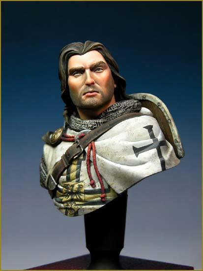 Knights Templar bust