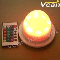 6PCS DHL Free Shipping Super Bright 16 Colors Remote Control Module LED RGB Light Kit