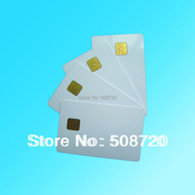 10 pcs iso 7816 atmel 24c64 pvc 접촉 스마트 ic 카드 무료 배송