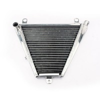 BIKINGBOY Radiator Engine Cooling 26MM Aluminium Core Water Cooler With Cap for Ducati Panigale 1199 S R 12 13 14 15 16 BOTTOM