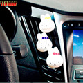 1 pair car-styling Car Perfumes Solid Air Freshener OEM Air Conditioning Vent Flavoring In the Car parfums