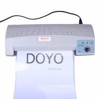 DOYO Professional A4 Photo Laminator Paper Film Document Hot And Cold Laminator With Temperature Control EU Plug Drop Shipping