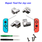 For Nintend Switch NS Joy Con Metal Lock Buckles Repair Tool Kit For Nintendo Switch Joy-Con Controller w/ Screwdrivers Y Screws