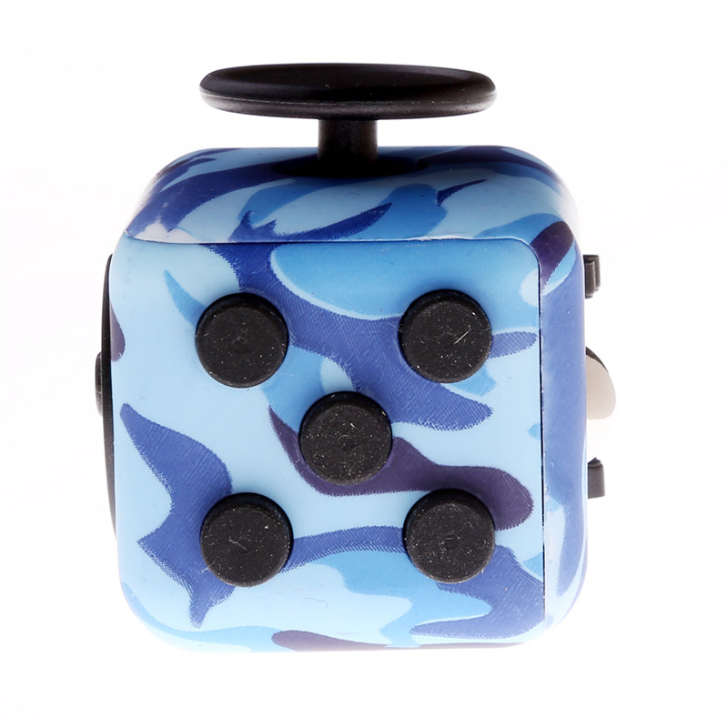 mini 12 colors original fidget cube desk toy 2017 new. Black Bedroom Furniture Sets. Home Design Ideas