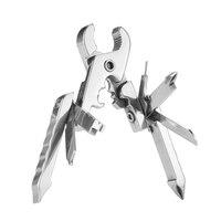 Швейцарские технологии многофункциональный открытый инструмент зажим 15 в 1 мини-плоскогубцы Портативная Складная отвертка многофункциона...