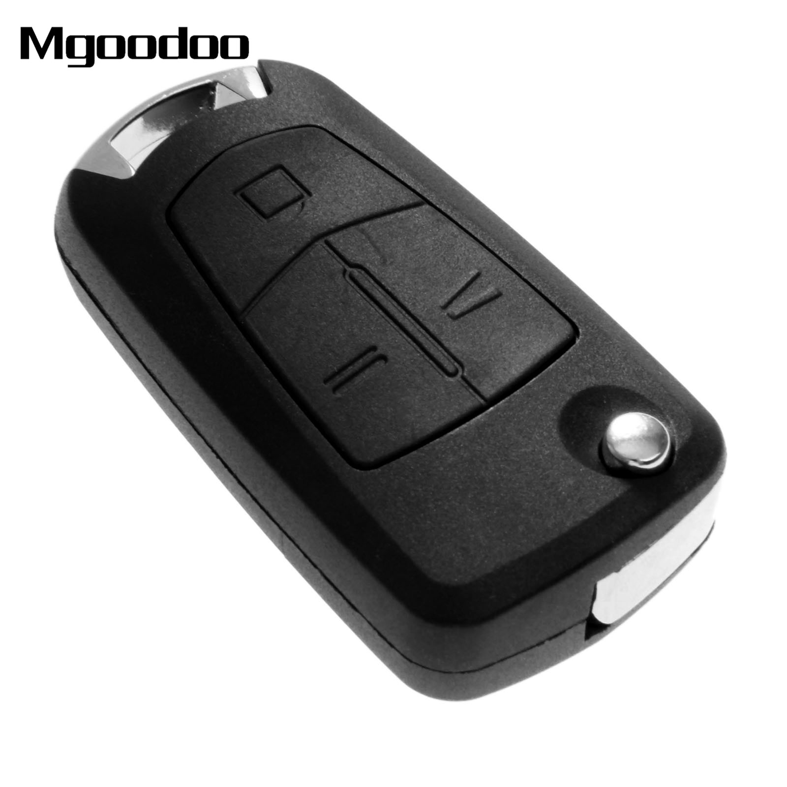 Mgoodoo 3 Buttons Car Flip Folding Remote Key Shell Case Fob For Vauxhall Opel Corsa Astra Kadett Monza Montana Uncut Car Covers in Car Key from Automobiles Motorcycles