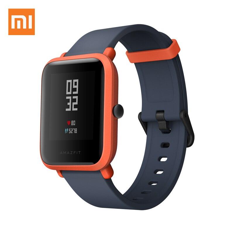 XIAOMI Midong Youth Verison Смарт часы спортивные IP68 Водонепроницаемые GPS + ГЛОНАСС Трекер PPG пульсометр английский язык Mi Fit|Смарт-часы|   | АлиЭкспресс