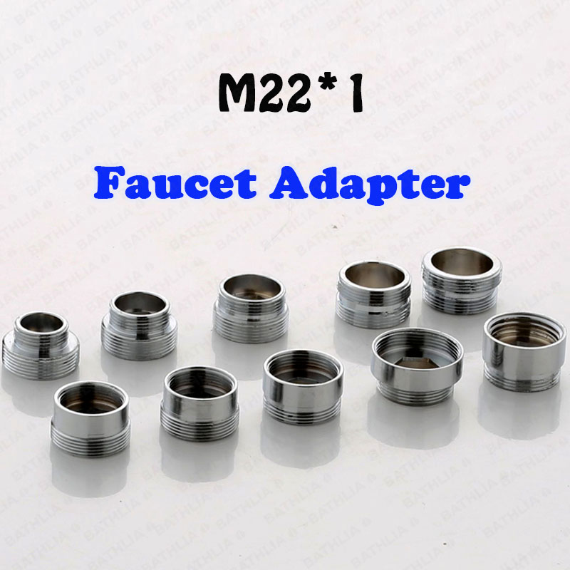 M22  Water Purifier Adapter Brass Faucet Aerator Connector Adapter Kitchen Faucet Replacement Easy To Assemble