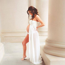 Chiffon Maxi Gown Maternity Dress For Sexy Maternity Photographs
