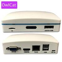 OwlCat CCTV NVR 4CH 1080P Super Mini Network Video Recorder 4CHANNEL DVR For Onvif IP Cameras