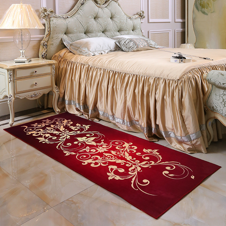 zeegle floral modern area rug for living room bedroom