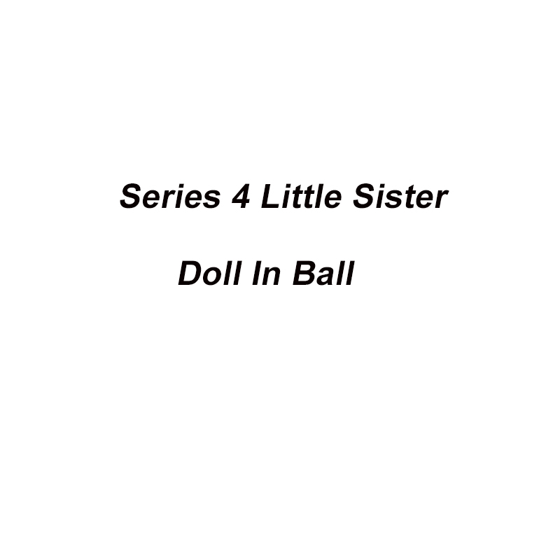 5Pcs Lot Original Series 4 Doll in Ball Little Sister Dolls Best Collection Toys For Children