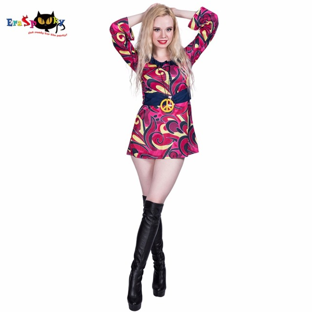 Vestido de hippie para mujer