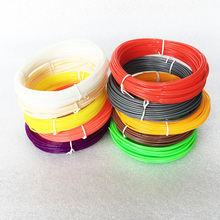10M 10 colors 3d Printer Filament Optional 1.75mm ABS for Printer Pen Consumables Supplies MakerBot