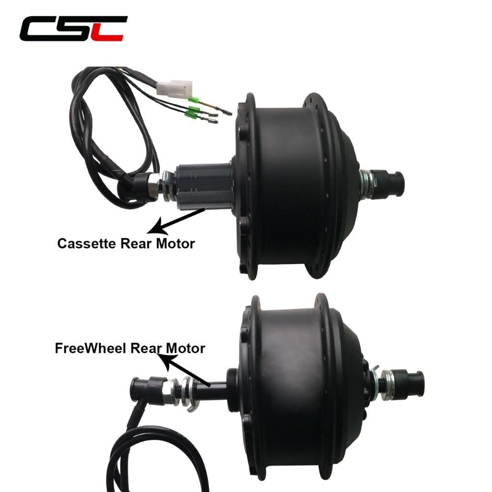36V Brushless Gear Hub Motor 250W 350W 500W Ebike Motor For Electric Bicycle Rear Wheel