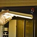Pir motion sensor led night light para o closet wardrobe corredor usb recarregável smd2835 10 pcs led interruptor de luz automaticamente