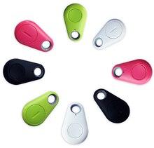 Смарт-Тегов Беспроводная Связь Bluetooth 4.0 Трекер Бумажник Ключ Брелок Finder GPS Locator Анти Потерял Сигнализации 4 Цветов на Выбор